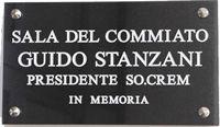 targa Sala del Commiato Guido Stanzani