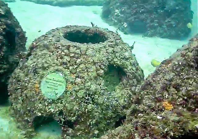 Ceneri dei defunti in fondo al mare