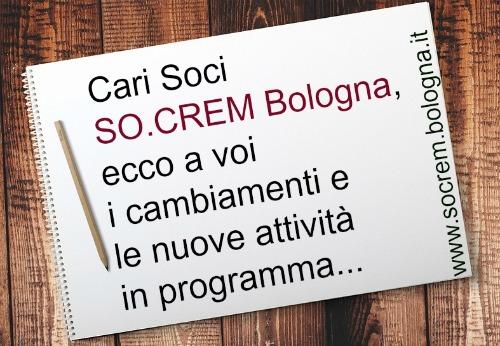 Lettera ai soci SO.CREM Bologna