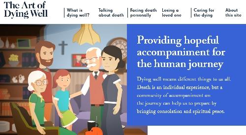 Il morire e la morte in un sito web