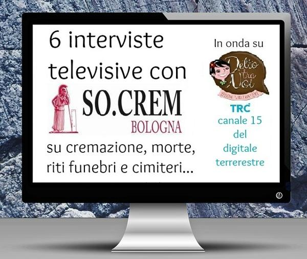 Socrem Bologna interviste televisive
