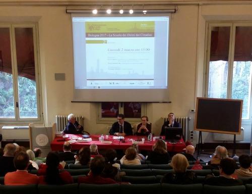 Bologna: Virginio Merola alla Scuola dei diritti
