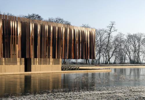 polo crematorio di design in Belgio