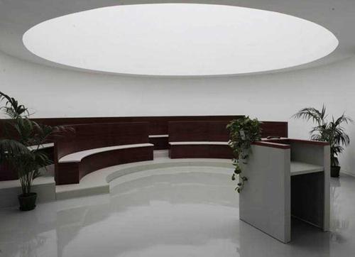 sala del commiato nel polo crematorio