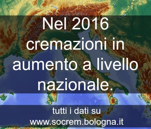 dati cremazione 2016