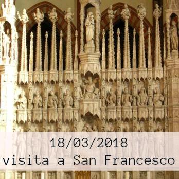 visita all'altare di san francesco