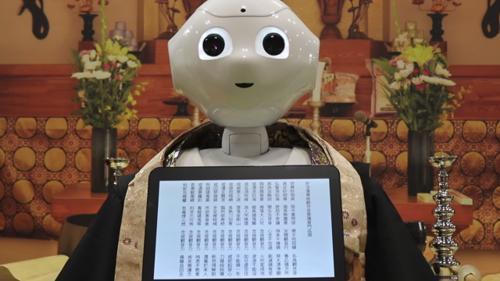 robot celebra funerali in Giappone