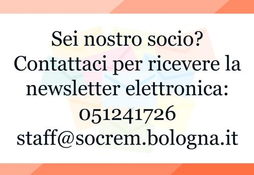 newsletter soci socrem bologna
