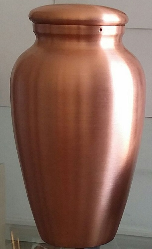 urna ad anfora in rame