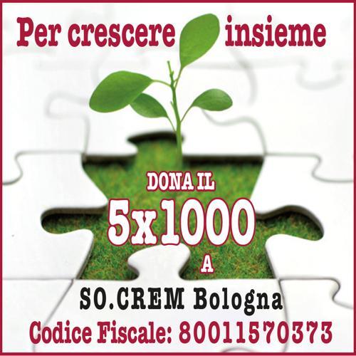 Dona il 5per1000 a socrem bologna
