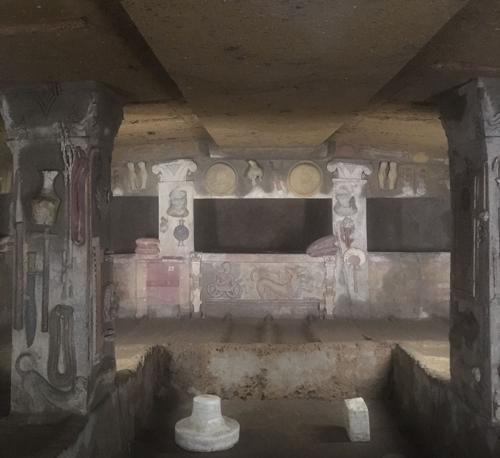 Tomba dei rilievi a Cerveteri