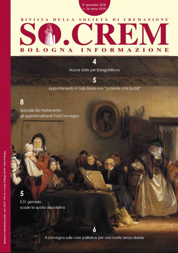 Copertina rivista socrem novembre 2018