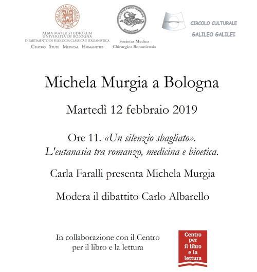 Incontro con Michela Murgia a Bologna