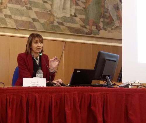 Danila Valenti al convegno sulle cure palliative