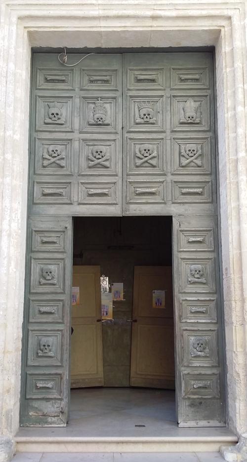 Portale Chiesa del Purgatorio a Matera