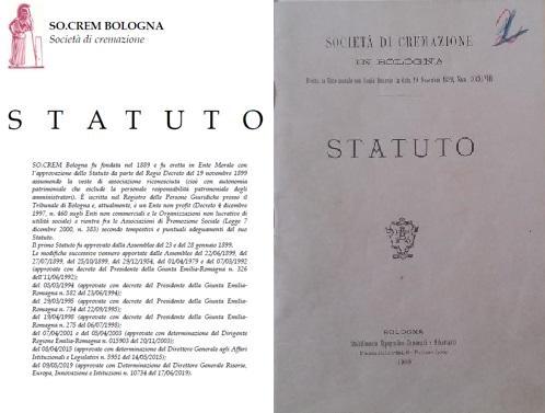 Copertina Statuto Socrem Bologna