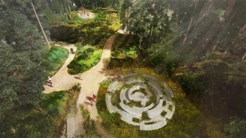 cimitero naturale in California