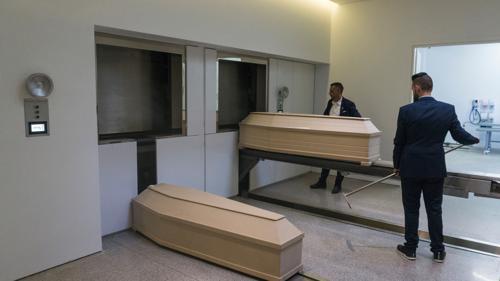 Impianto crematorio in Grecia